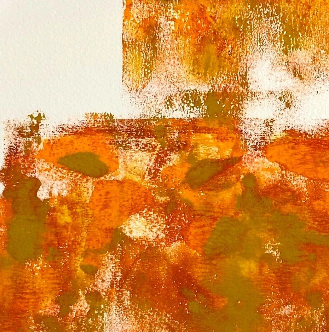 SueShaw-AfterTheRain-monoprint-14.5x14.5cm-framed