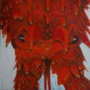 Sally O'Connor-Jasus Birdseye-oil on canvas-46x46cm-2021